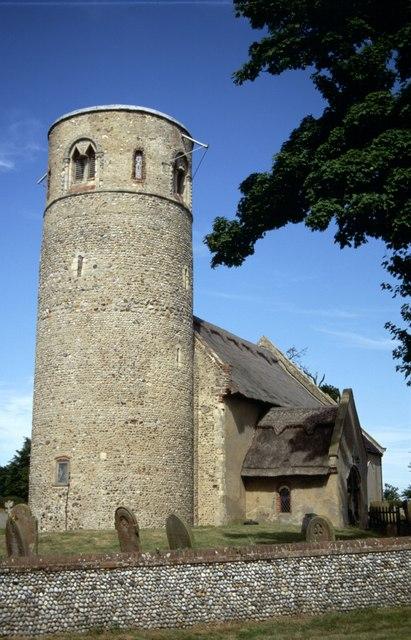 Herringfleet church