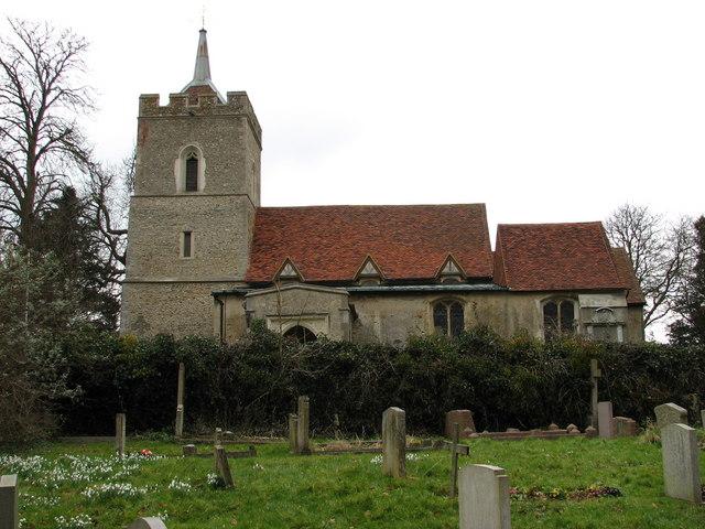 St. Mary's Church - Aspenden, Hertfordshire