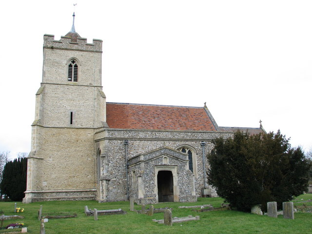 St. Andrew's Church - Buckland, Hertfordshire