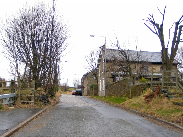Cobbled Road to Nangreaves