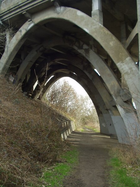 Under the Ring Road Bridge, Horsforth / Calverley