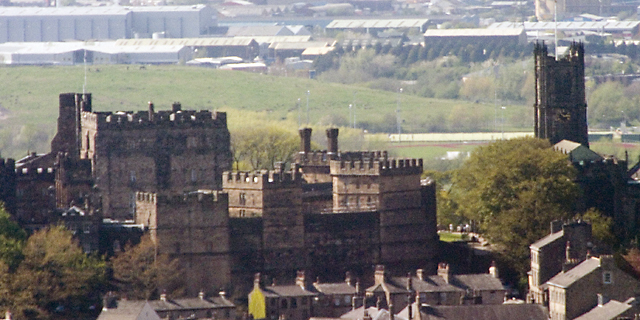 Lancaster Castle and Priory
