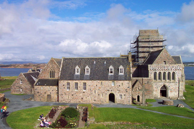 The Abbey on the isle of Iona