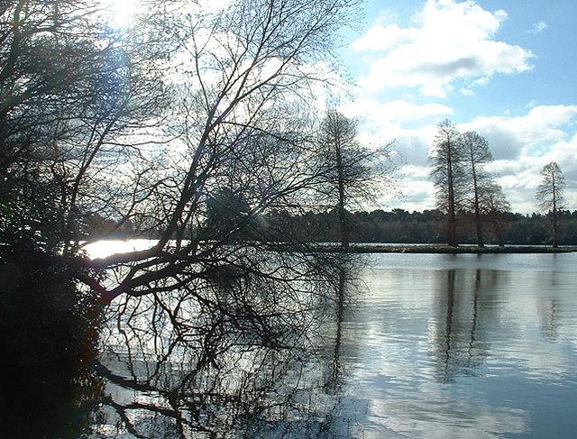 Hawley Lake in Winter, 2006