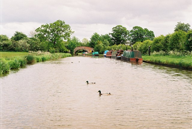 Shropshire union Canal, Calveley Bridge