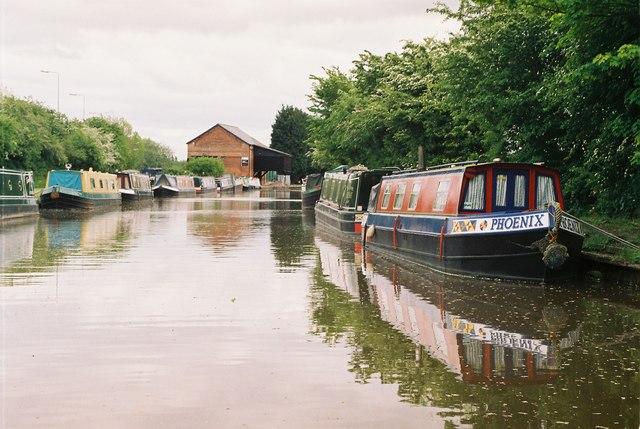 Shropshire Union Canal, Calveley