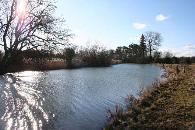 Weir stream at Sandford