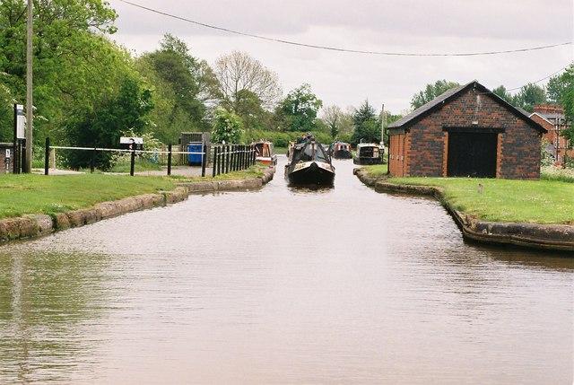 Shropshire union Canal at Barbridge