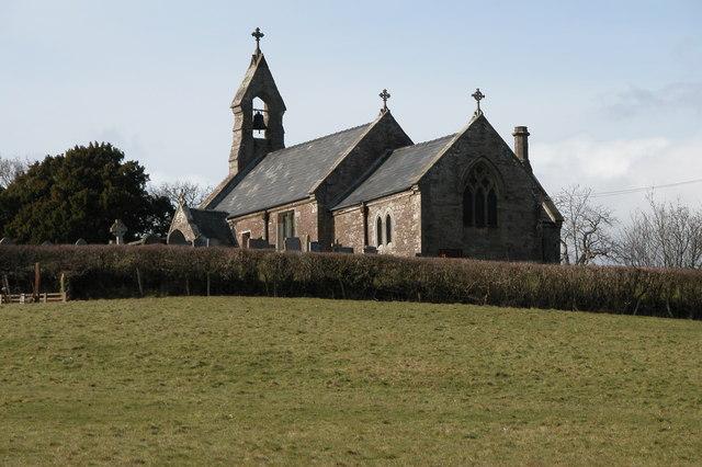 Kenderchurch church