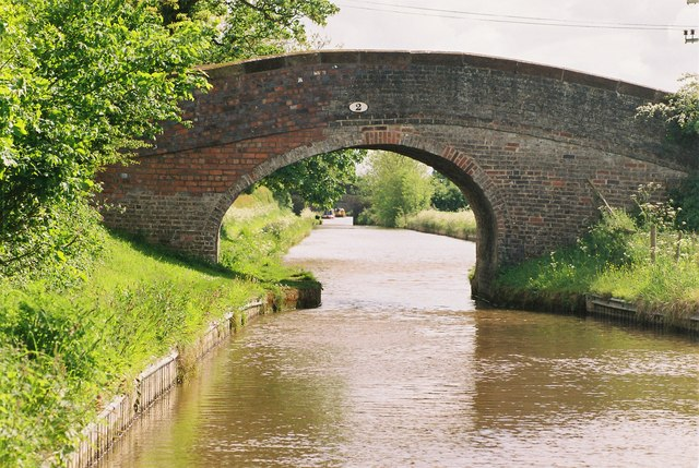 Llangollen Canal - Bachehouse Bridge