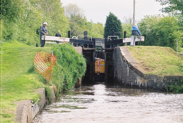 Llangollen Canal - Swanley No 2 Lock