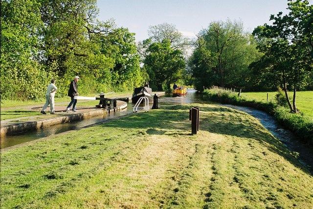 Llangollen Canal - Baddiley No 1 Lock