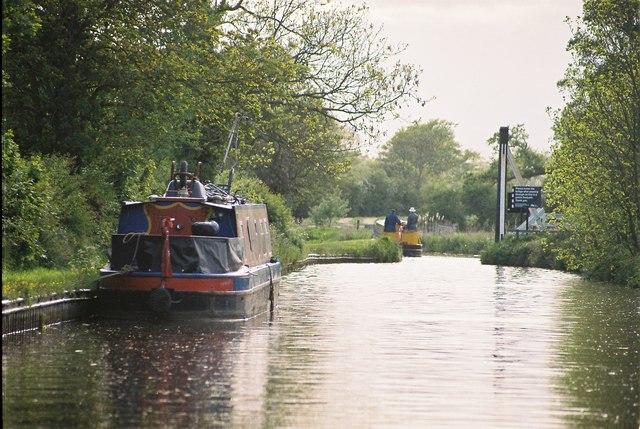 Llangollen Canal - Wrenbury Church Lift Bridge