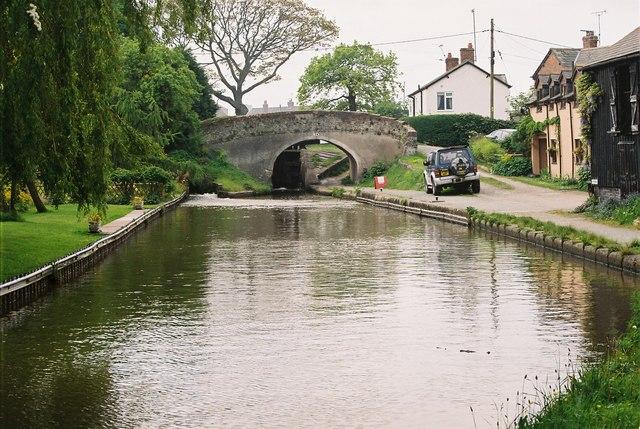 Llangollen Canal - Lane Croft Wharf