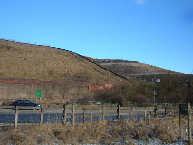 Deerplay Landfill Site , near Burnley
