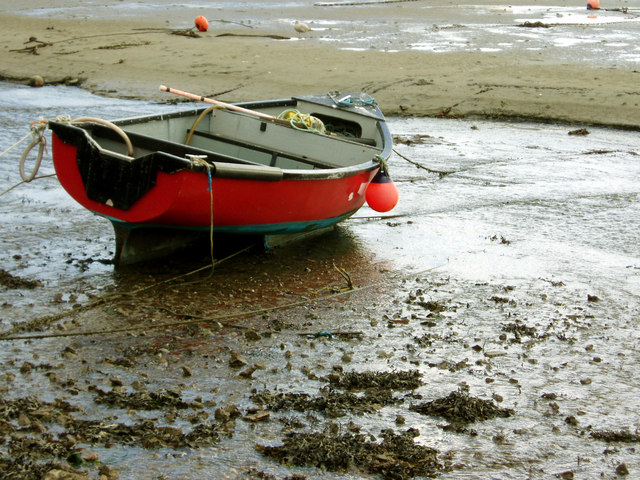Low tide in Penzance Harbour