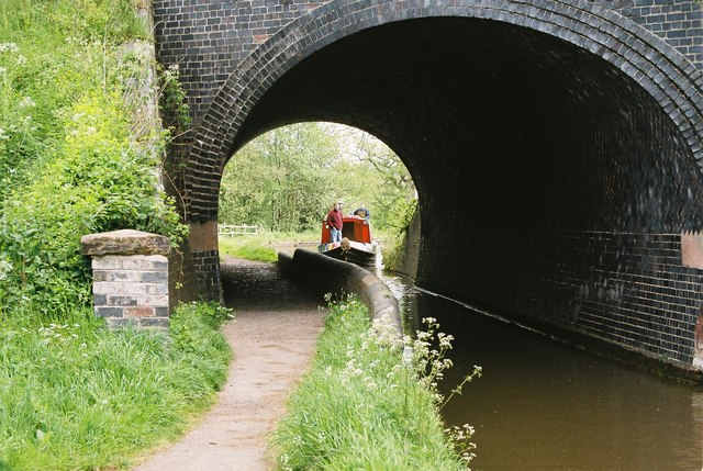 Llangollen Canal - Grindley Brook Railway Bridge