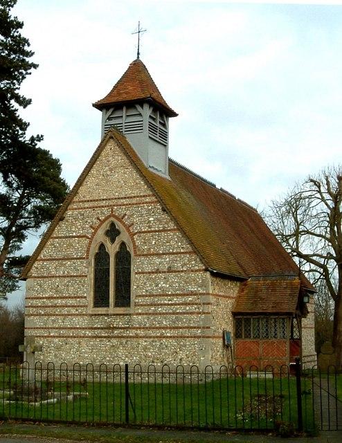St. Mary's Church, Hawridge - View from S.E.