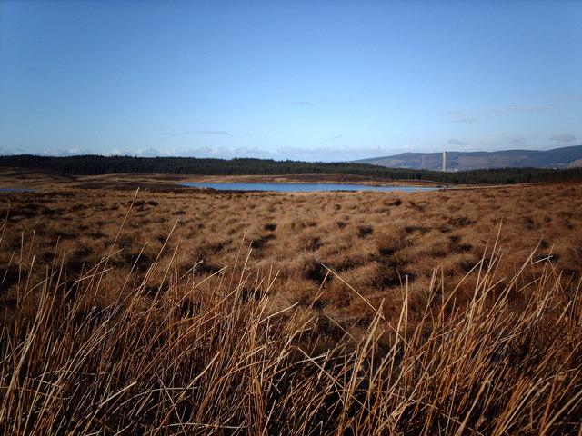 Daff Reservoir from Kelly Cut