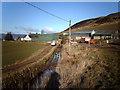 NS2472 : Greenock Cut at Shielhill Farm by Thomas Nugent