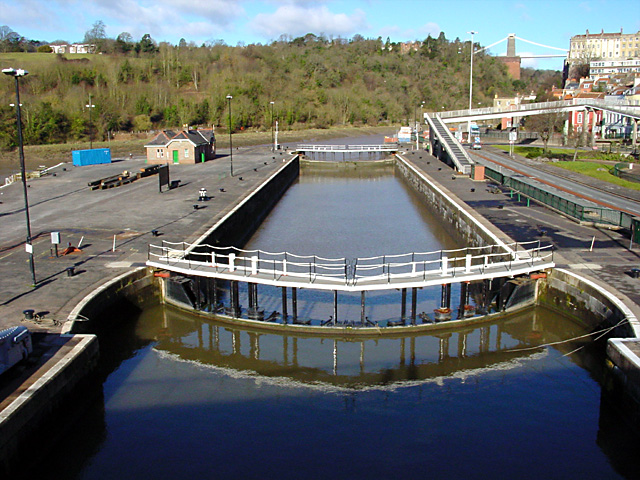 Howard Lock at the end of the Cumberland Basin