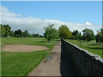 NS8683 : Tryst Golf Course, Larbert by Oliver Dixon