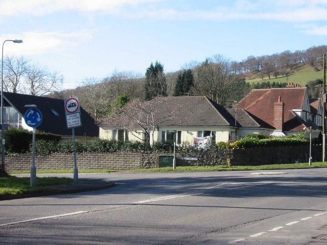Pantmawr Road roundabout