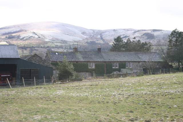 Greenclose Farm on Cold Day