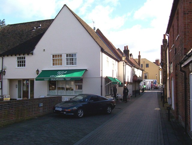 Small shopping parade Ware Herts
