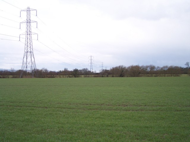 Power Lines over the Fields of Badgeworth