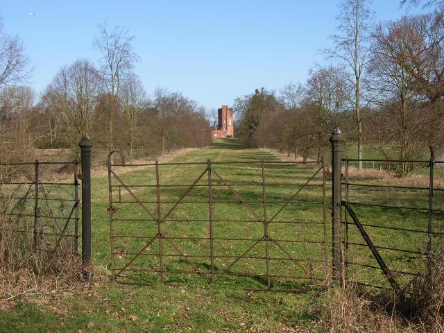 Parkland below Cranbourne Tower