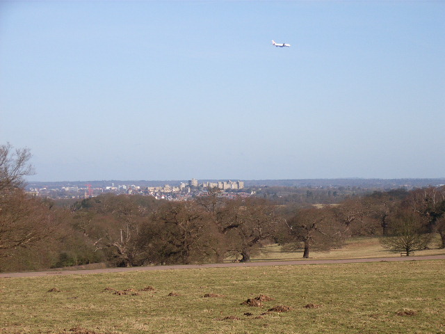 View of Windsor from Forest Gate