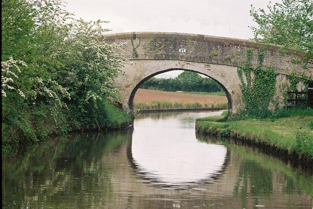 Llangollen Canal - Cornhill Bridge