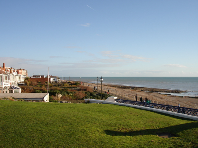 Bexhill on Sea Christmas Day 2005