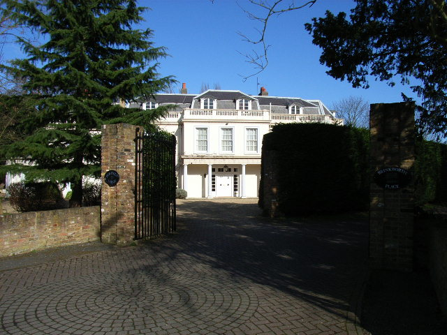 A large house in Old Windsor