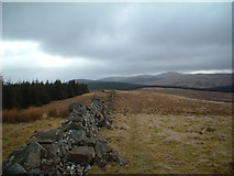 NT0008 : Southern Upland Way, Beld Knowe by Chris Wimbush