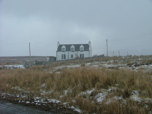 Croft house in Kilmaluag