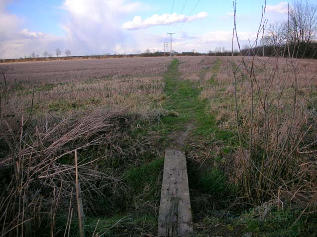 Footpath from Raunds to Denford Ash