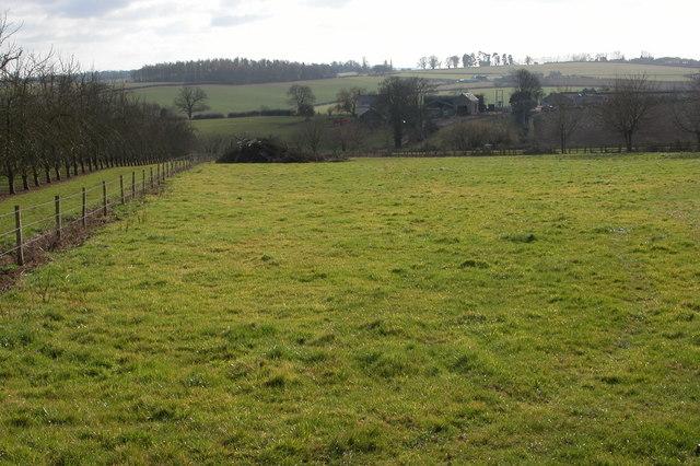 Oakfields Farm near Hoarwithy