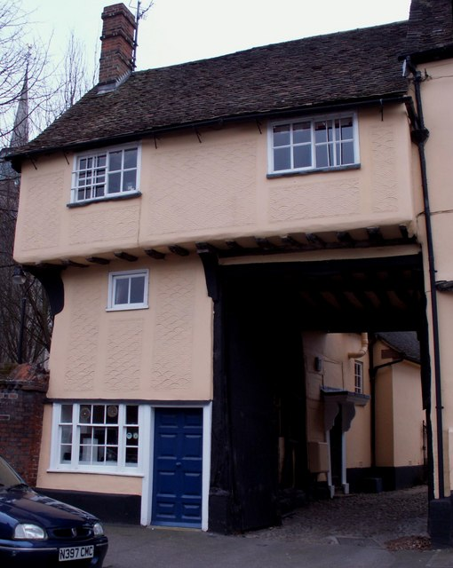 Old House in Baldock, Herts