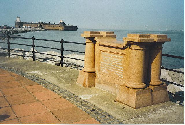 New Brighton Promenade Memorial.