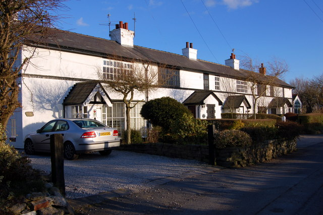 Row of Cottages at Stanah