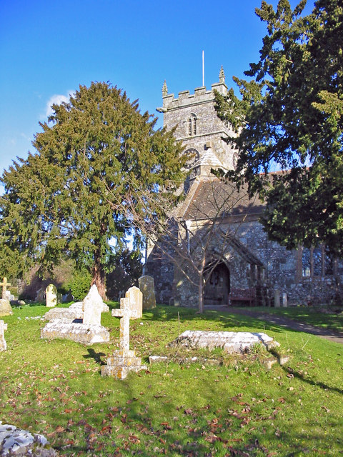 Church of St Mary the Virgin Sixpenny Handley Dorset