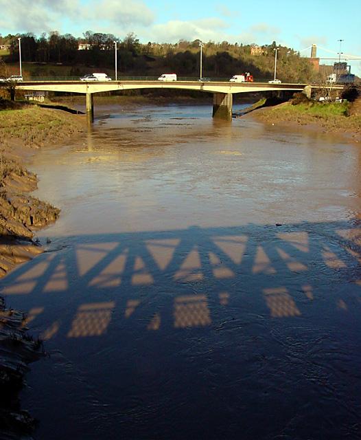 A370 bridge crossing the River Avon