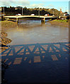 ST5672 : A370 bridge crossing the River Avon by Linda Bailey