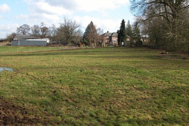 Farm beside Bowers Wood, near Kilpeck