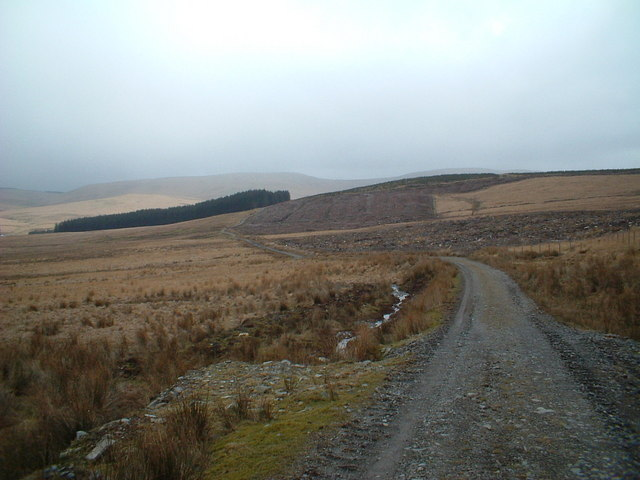 Southern Upland Way near Hem Hill