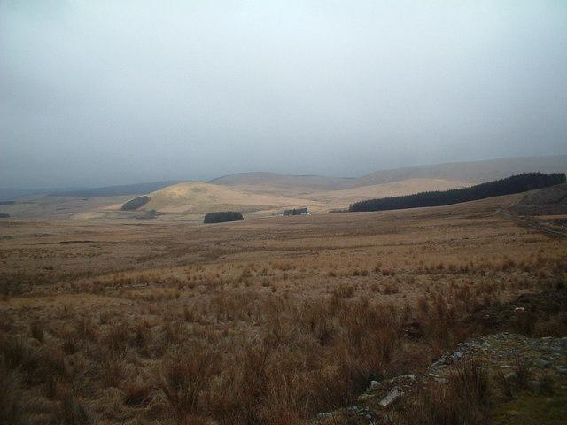 Southern Upland Way near Hitteril