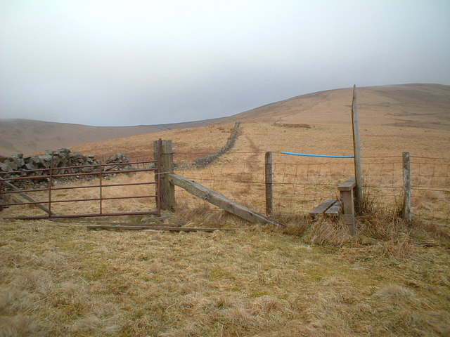 Southern Upland Way, Sweetshaw Brae