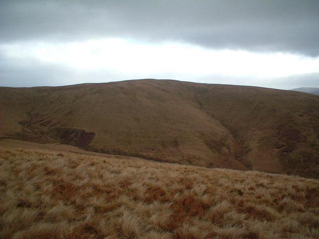 Towards Sweetshaw Brae and Midge Grain